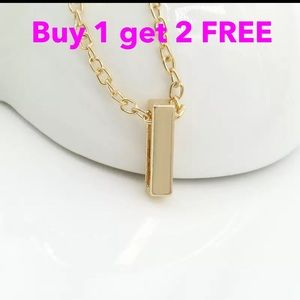 Jewelry - DIY letter initial name letter I necklace